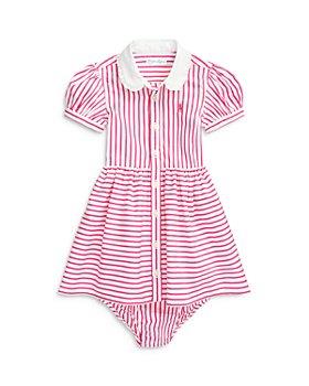 Ralph Lauren - Girls' Striped Shirt Dress & Bloomers - Baby
