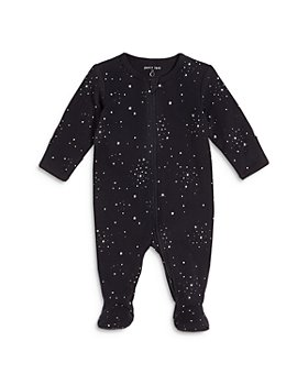 FIRSTS by petit lem - Unisex Star Print Sleeper Footie - Baby