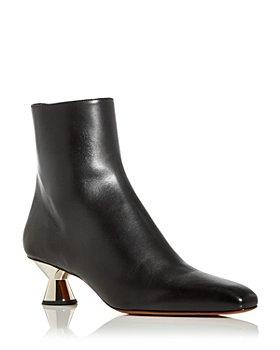 Proenza Schouler - Women's Vase Low Heel Booties
