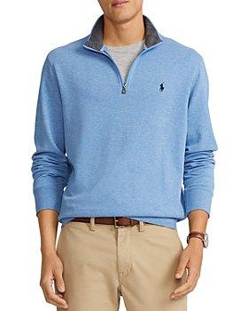 Polo Ralph Lauren - Double Knit Quarter-Zip Pullover