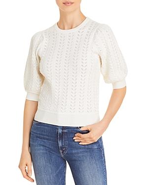 Steffie Puff-Sleeve Sweater