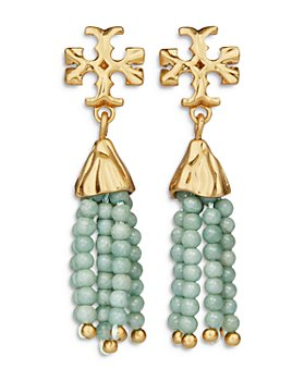 Tory Burch - Roxanne Beaded Tassel Drop Earrings