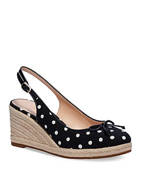 kate spade new york - Women's Panama Nights Bow Slingback Espadrille Wedge Shoes