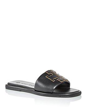 Tory Burch - Women's Double T Sport Slide Sandals
