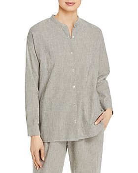 Eileen Fisher - Micro Striped Shirt