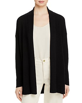 Eileen Fisher - High Collar Cardigan - 100% Exclusive