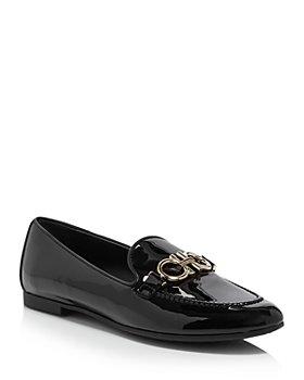 Salvatore Ferragamo - Trifoglio Patent Leather Loafers