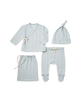 Elegant Baby - Unisex Welcome Home 4 Piece Set - Baby