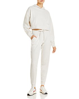 Alo Yoga - Muse Rib-Knit Hooded Sweatshirt & Sweatpants