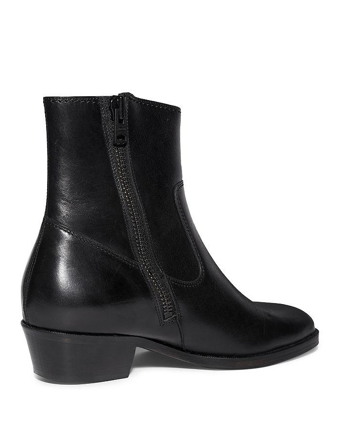 ALLSAINTS Boots MEN'S RIDGE ZIP UP BOOTS