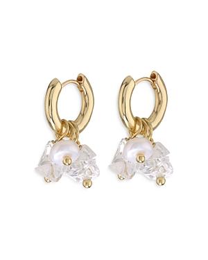 Rock Candy Huggie Hoop Earrings