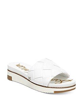 Sam Edelman - Women's Adaley Woven Slide Sandals