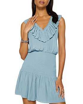 Ramy Brook - Ellery Ruffled Sleeveless Mini Dress