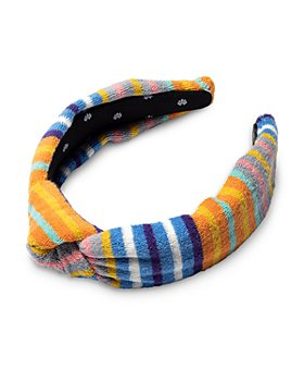 Lele Sadoughi - Striped Terry Knot Headband