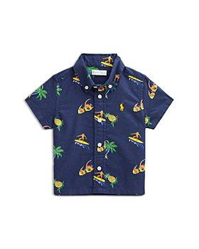 Ralph Lauren - Boys' Printed Cotton Oxford Short Sleeve Shirt - Baby