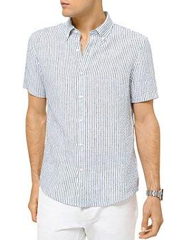 Michael Kors - Linen Seersucker Slim Fit Shirt