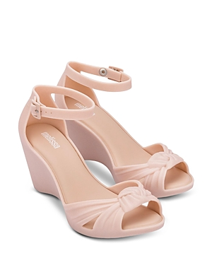 Women's Strappy Knotted Wedge Sandals