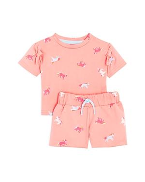 Sovereign Code Girls' Marleni + Kyla Horse Print Shorts & Tee Set - Baby