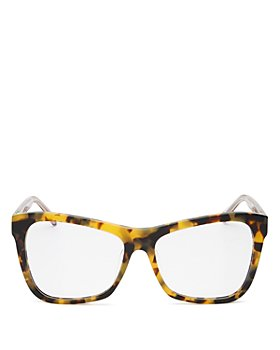 Karen Walker - Unisex Square Blue Light Glasses, 56mm