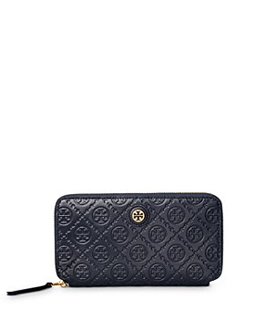 Tory Burch - T Monogram Leather Zip Wallet