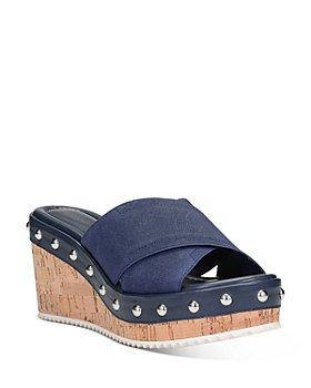 Donald Pliner - Women's Idraa Cork Wedge Heel Sandals