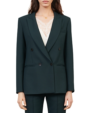 Maje VILA DOUBLE BREASTED BLAZER