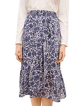 Gerard Darel - Lisea Floral Print Skirt