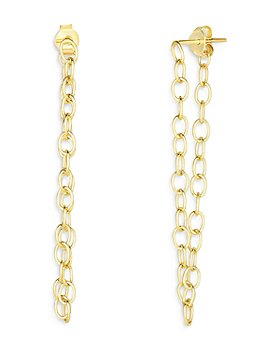 Moon & Meadow - 14K Yellow Gold Chain Link Drop Earrings - 100% Exclusive - 100% Exclusive