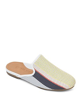 Gentle Souls by Kenneth Cole - Women's Eugene Slip On Woven Slide Flats