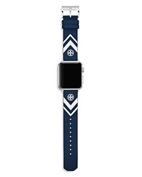 Tory Burch - Chevron Leather Strap for Apple Watch®, 38-40mm