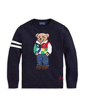 Ralph Lauren - Boys' Crewneck Polo Bear Sweater - Little Kid, Big Kid