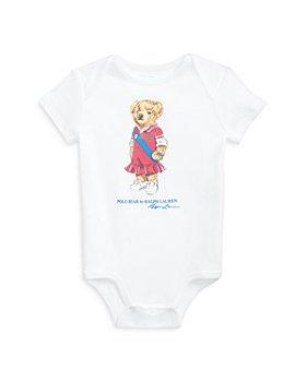 Ralph Lauren - Girls' Bear Bodysuit - Baby