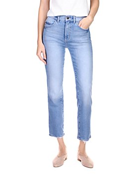 DL1961 - Patti High Rise Straight Leg Jeans in Reef
