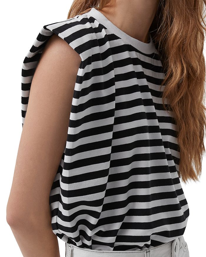 FRENCH CONNECTION - Cotton Striped Top