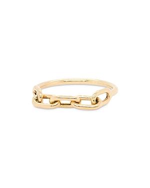 Zoë Chicco 14k Yellow Gold Chain Ring