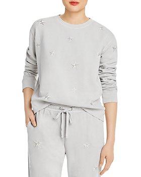 AQUA - Embroidered Star Sweatshirt - 100% Exclusive