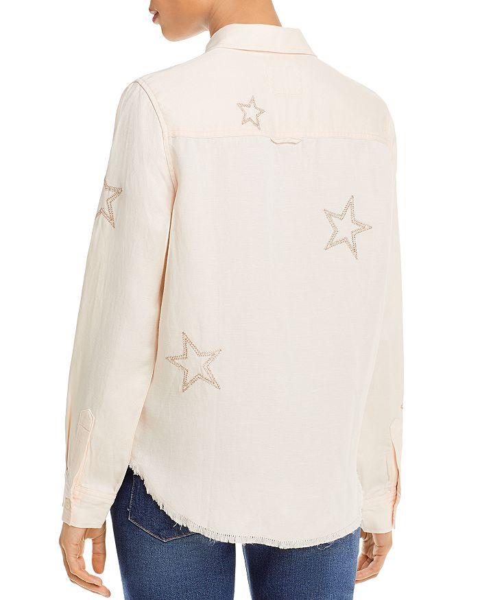 RAILS Shirts LOREN STAR EMBROIDERED SHIRT