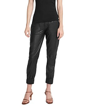 J Brand - Arkin Leather Jogger Pants