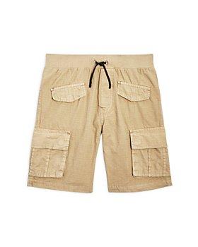 7 For All Mankind - Boys' Vintage Wash Cargo Shorts - Big Kid