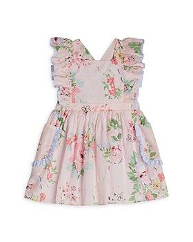Pippa & Julie - Girls' Clip Dot Pinafore Dress - Little Kid