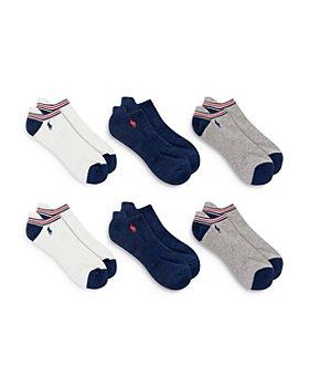 Polo Ralph Lauren - Americana Low Cut Socks - Pack of 6