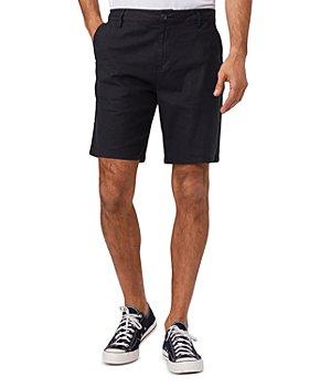 PAIGE - Thompson Linen Blend Slim Fit Shorts