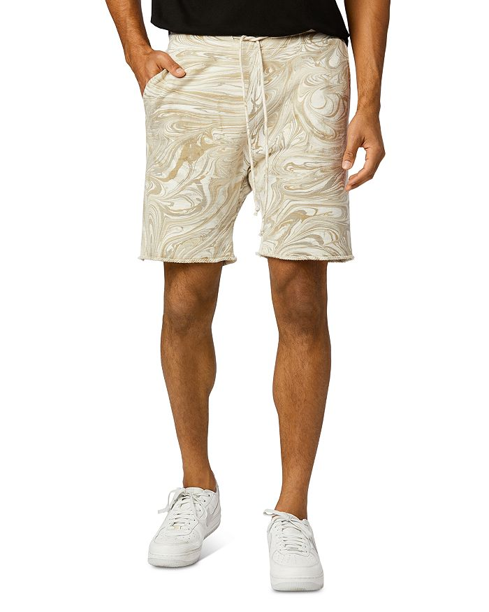 Joe's Jeans MARBLE DYE FRENCH TERRY SLIM FIT SHORTS