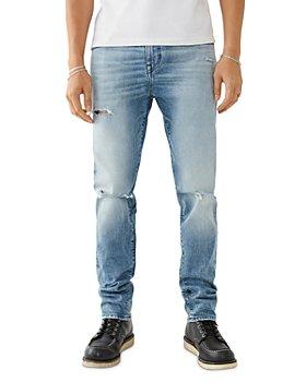 True Religion - Rocco Renegade Skinny Fit Jeans in Light Sun Blaze
