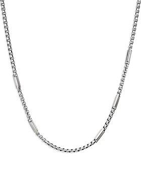 """David Yurman - Sterling Silver Streamline® Station Necklace, 24"""""""