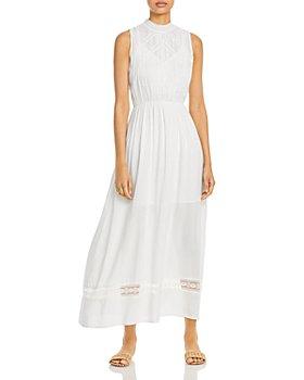 AQUA - Lace Inset Maxi Dress - 100% Exclusive