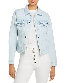 BLANKNYC - Ruffled Denim Jacket