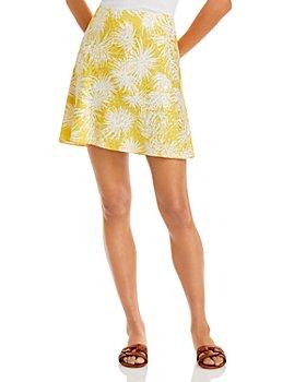 Rebecca Taylor - Sunflower Mini Skirt