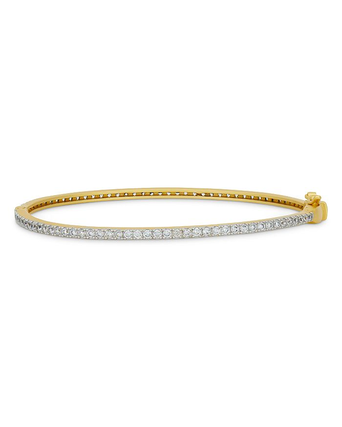 Freida Rothman Bracelets AMOR OF PAVE BANGLE BRACELET
