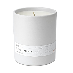 Aerangis No. 0324 Aging Spirits Scented Candle, 8 Oz. In White